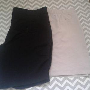 2 active wear 1 short 1 skort